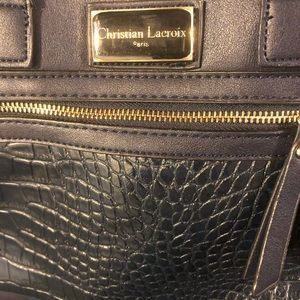 Christian Lacroix ladies NAVY BLUE handbag